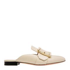 BALLY/巴利【20春夏】白色皮革女士轻便平跟鞋 BLLSF024图片