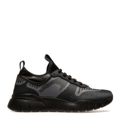 BALLY/巴利【20春夏】混纺棉黑色男士休闲运动鞋 BRANDOSBLLSM050图片