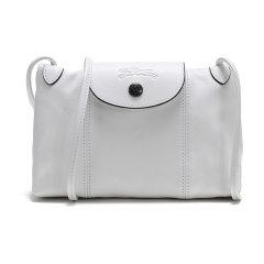Longchamp/珑骧2020春夏女士LEPLIAGECUIR系列羊皮单肩斜挎包邮差包1061757图片
