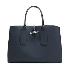 Longchamp/珑骧 2020秋冬 女士ROSEAU系列大号牛皮手提包 10059 HPN图片
