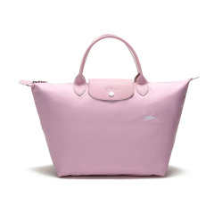 【国内现货】Longchamp/珑骧 女士LEPLIAGE系列织物中号短柄可折叠手提包 1623 619图片