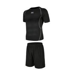 星加坊运动套装休闲男士健身服速干跑步健身裤运动服PJ202两件套图片