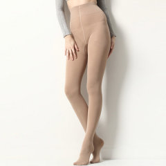 yumei/寓美 300D高腰束腹连裤袜 女春秋单层显瘦厚丝袜连裤袜图片