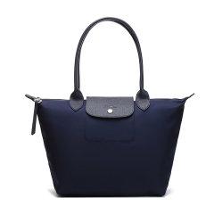 【国内现货】Longchamp/珑骧 女士LEPLIAGENEO系列小号织物长柄手提单肩包饺子包 2605 598图片