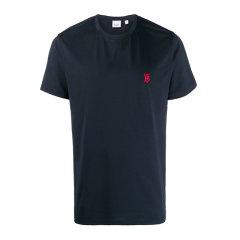 BURBERRY/博柏利 20春夏 男装 服装 棉质圆领经典logo印花套头衫 男士短袖T恤图片