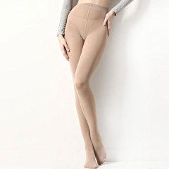 yumei/寓美 70D微透天鹅绒连裤袜单加裆 女春秋美腿工作时尚打底丝袜女装裤子图片