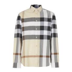 Burberry/博柏利 20春夏 男装 服饰 棉质经典格纹衬衣 男士长袖衬衫 8025846图片