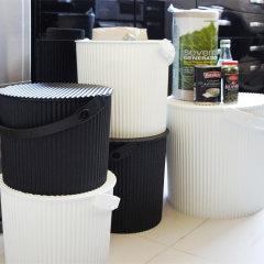 日本进口多功能收纳桶     网红桶带盖储物凳水桶         利快Hachiman户外便携储物桶钓鱼桶 (承重150kg)图片