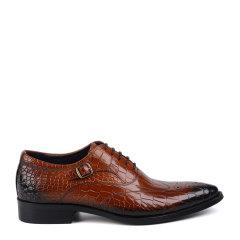 LANDAX/LANDAX 新款男士商务正装鞋 牛皮手工英伦男鞋图片
