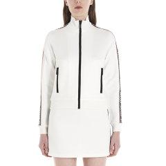 Miu Miu/缪缪 20年春夏 服装  时尚 女性 logo 白色 女卫衣 MJL6681WAP F0009图片