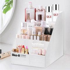 日本进口桌面收纳盒    A4型存储抽屉化妆品收纳盒    利快likeitA6型首饰文具办公用品桌面整理箱图片