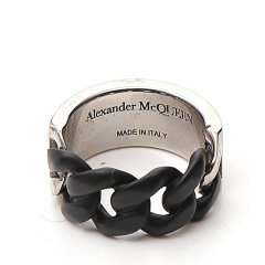 Alexander McQueen/亚历山大麦昆 20年春夏 百搭 男性 logo 戒指/指环 599980 J160K 1121图片