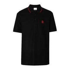 BURBERRY/博柏利 20秋冬 男装 服装 棉质LOGO刺绣短袖 男士T恤男士短POLO衫图片