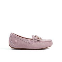 【4种穿法豆豆鞋】DK UGG夏季新款单鞋女士休闲蝴蝶结一脚蹬平底单鞋加厚浅口鞋DK625图片