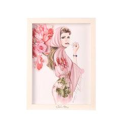 GeleiStory/GeleiStory 彭晶联名款珍藏艺术系列永生花相框画 情人节礼物 520礼物 送女友 送闺蜜礼物 店铺特惠 限量版图片