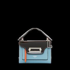 LANCEL/兰姿CLIC系列女士潮流斜挎包背包牛皮革2020新款春夏手提包中号A10809ZLTU图片