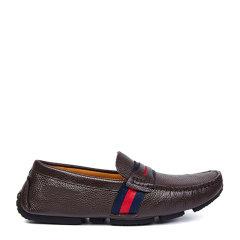 【国内现货】 20春夏新款 单条纹商务皮鞋 男式休闲皮鞋716图片