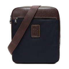 Longchamp/珑骧男士BOXFORD系列织物/配皮单肩斜挎包1714080图片