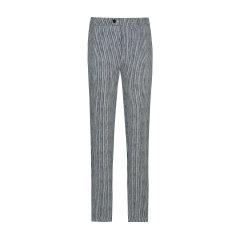 TOMBOLINI/东博利尼男士休闲裤20年春夏新品黑白条纹时尚休闲裤XTD52111UDRA图片