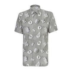 Dior Homme/迪奥桀傲 20年春夏 服装百搭 男性 logo 男士短袖衬衫 013C548A4846 888图片