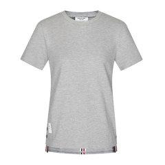Thom Browne/Thom Browne 20春夏 女装 服装 棉质简约圆领半袖 女士短袖T恤 FJS013A00050图片