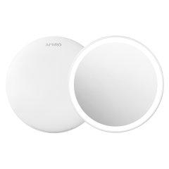AMIRO随身日光镜FREE系列LED化妆镜带灯便携补光镜子图片
