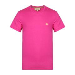 BURBERRY/博柏利 纯棉绿色圆领男士短袖T恤 短T 内搭 男士休闲上装40685921图片