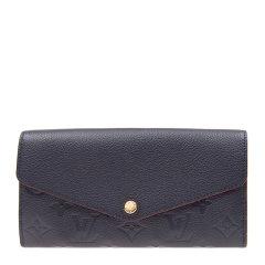 【包邮包税】Louis Vuitton/路易 威登 女士经典logo印花图案长款钱包图片