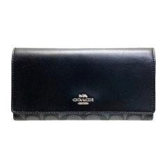 COACH/蔻驰 三折页带拉链多卡位大容量 可放大钞 长款钱包 女包 F88024图片