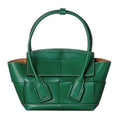 【包邮包税】Bottega Veneta/葆蝶家 The Arco系列 20春夏 女士小牛皮编织手拎包挎包手提包图片
