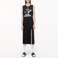MO&Co./摩安珂女士连衣裙2020夏季新品高开衩印花兔巴哥无袖连衣裙MBO2DRS023图片