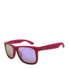 Ray-Ban/雷朋 简约 时尚 方形 男女款 太阳镜 板材 全框 彩色镜框 彩膜 反光 镜片 墨镜 眼镜 RB4165F 55mm Ray-Ban 雷朋图片