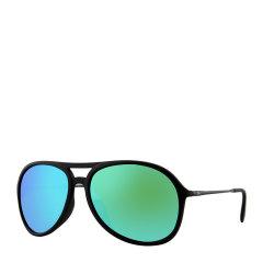 Ray-Ban/雷朋 超大框 飞行员 蛤蟆镜 男女款 太阳镜 树脂 反光 镜片 墨镜 眼镜 RB4201F RB4125 RB3454E 59·65mm RayBan 雷朋图片