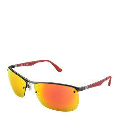 Ray-Ban/雷朋 长方形 飞行员 男款 太阳镜 彩膜 反光 镜面 墨镜 眼镜 RB3550 RB3541 RB3509 61~64mm RayBan 雷朋图片
