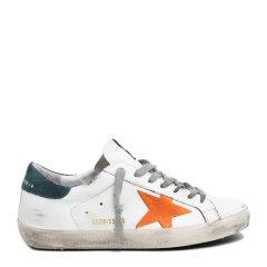 GOLDEN GOOSE DELUXE BRAND【20春夏新款】GGDB 男士白色牛皮超级明星休闲鞋运动鞋低帮板鞋小脏鞋小白鞋男鞋 多色可选图片