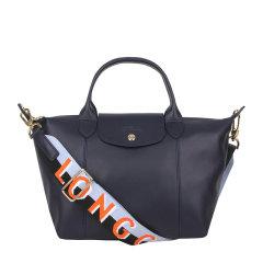 Longchamp/珑骧  女士LE PLIAGE CUIR系列羊皮短柄手提包宽肩带单肩包斜挎包 1512 863图片