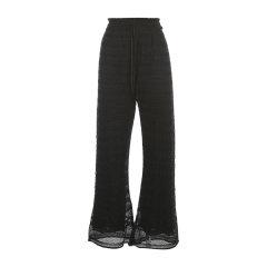 M MISSONI/M MISSONI 20年春夏 服装百搭 女性 黑色 女士休闲裤 2DI00135.2K004M L901L图片