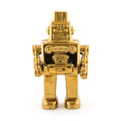 SELETTI家纺家饰装饰摆件品童年回忆系列 金色陶瓷 创意礼品礼物送男友-多款图片
