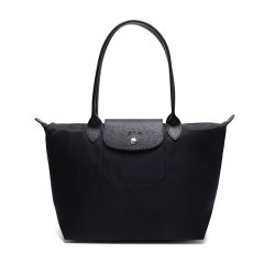 Longchamp/珑骧 女士Le Pliage Neo 加厚女士长柄织物/配皮手提饺子包2605 578图片