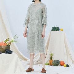 EXCEPTION/例外-H型连衣裙-女士连衣裙-直播图片