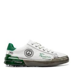 【20春夏】Sze/Sze 牛皮 男士时尚涂鸦休闲运动鞋板鞋小白鞋X08M010图片