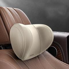 QUEES/乔氏  汽车头枕颈枕 车用车载枕头 太空记忆棉 透气面料 三挡调节弧度图片