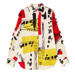 设计师品牌YAWANG CHEN/YAWANG CHEN女装>女士衬衫>女士长袖衬衫纯棉质地款式版型图片