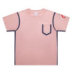 5min/5min火热传奇系列女士短袖T恤滚边袋Tee图片