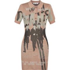 【披头士联名款】d'zzit/d'zzit地素20夏新款披头士联名系列针织连衣裙 裙装 女士裙装 女装3C2E6031A图片