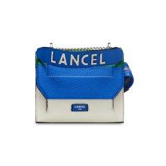 LANCEL/兰姿明星同款法国NINON系列链条包女单肩手提包小众斜挎包百搭小包牛皮革A102312GTU图片