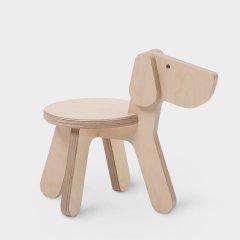 点造|moji|动物椅子|生肖椅|儿童房|北欧|靠背|矮凳|卡通|幼儿园|木质换鞋|24cm高图片