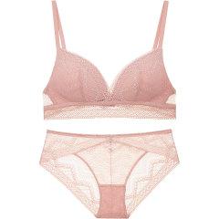 【DesignerWomenwear】Adorre Gaea2020SS性感薄棉舒适内衣无钢圈蕾丝文胸套装图片