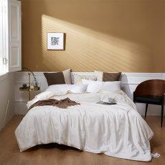 Fantti /芬缇 床上用品木本提花可水洗大豆纤维夏被空调被夏凉被夏季单双人薄被床品套件图片
