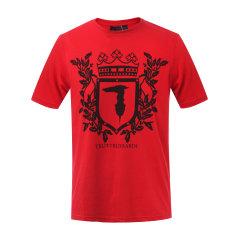 Trussardi/楚莎迪 纯棉圆领男士短袖T恤 短t 休闲上装 上衣32T00156 1T004448 E150图片